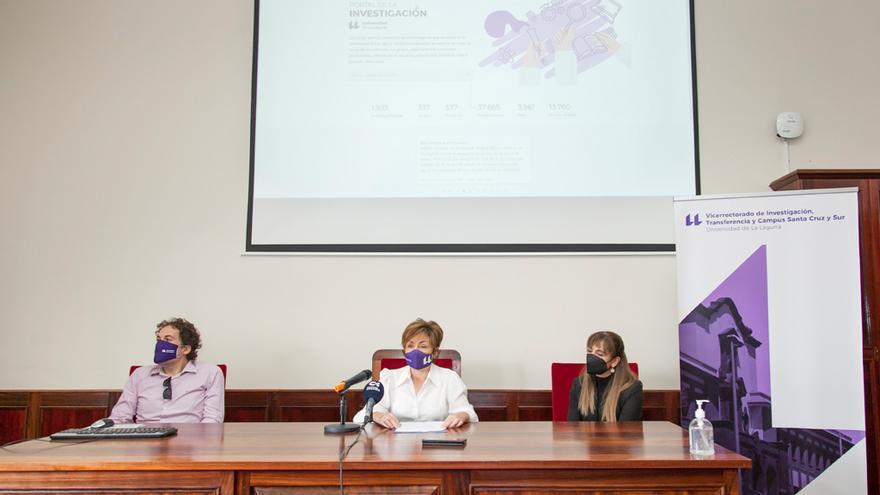 Un portal en internet dará a conocer la producción científica de la ULL