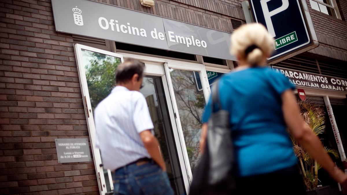 Una oficina de empleo en Santa Cruz de Tenerife.