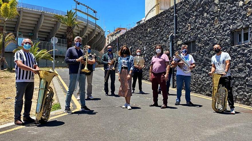 La Banda Municipal de Música se incorpora a la nueva normalidad