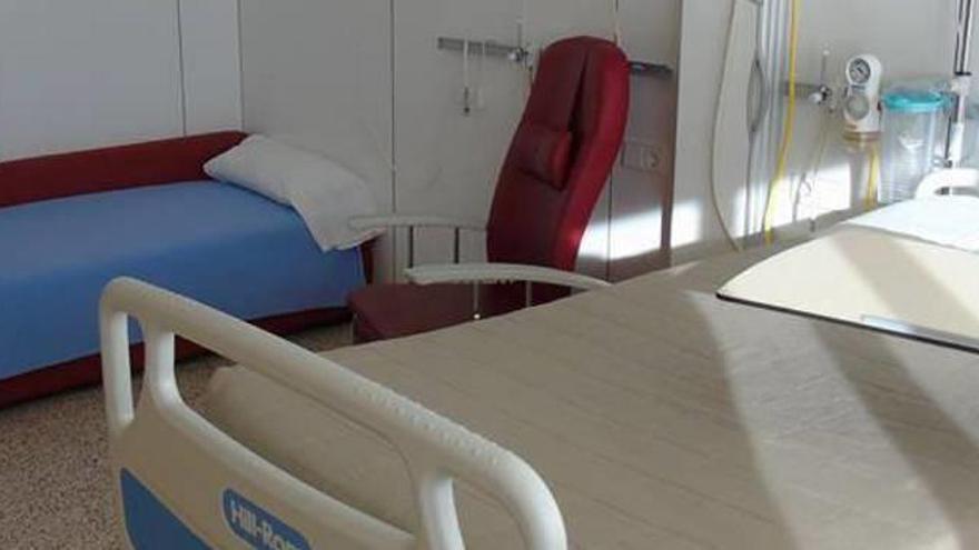 L'hospital de Cerdanya reestructura les habitacions perquè hi dormin els acompanyants