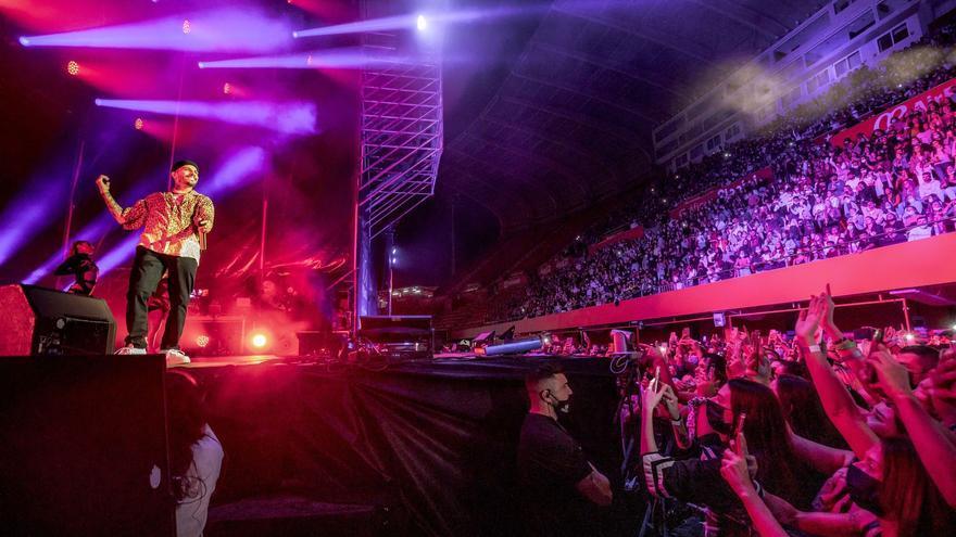 Rauw Alejandro, el primer concierto en Mallorca con 5.000 personas
