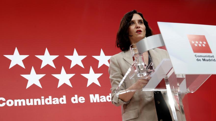 Ayuso suprime todos los impuestos propios de la Comunidad de Madrid