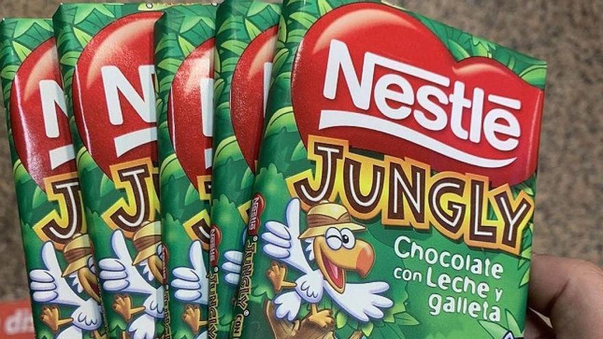 Jungly, tabletas de chocolate a precio de cocaína