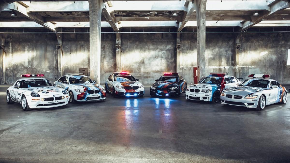 Estos son todos los BMW Safety Car del Campeonato del Mundo de MotoGP