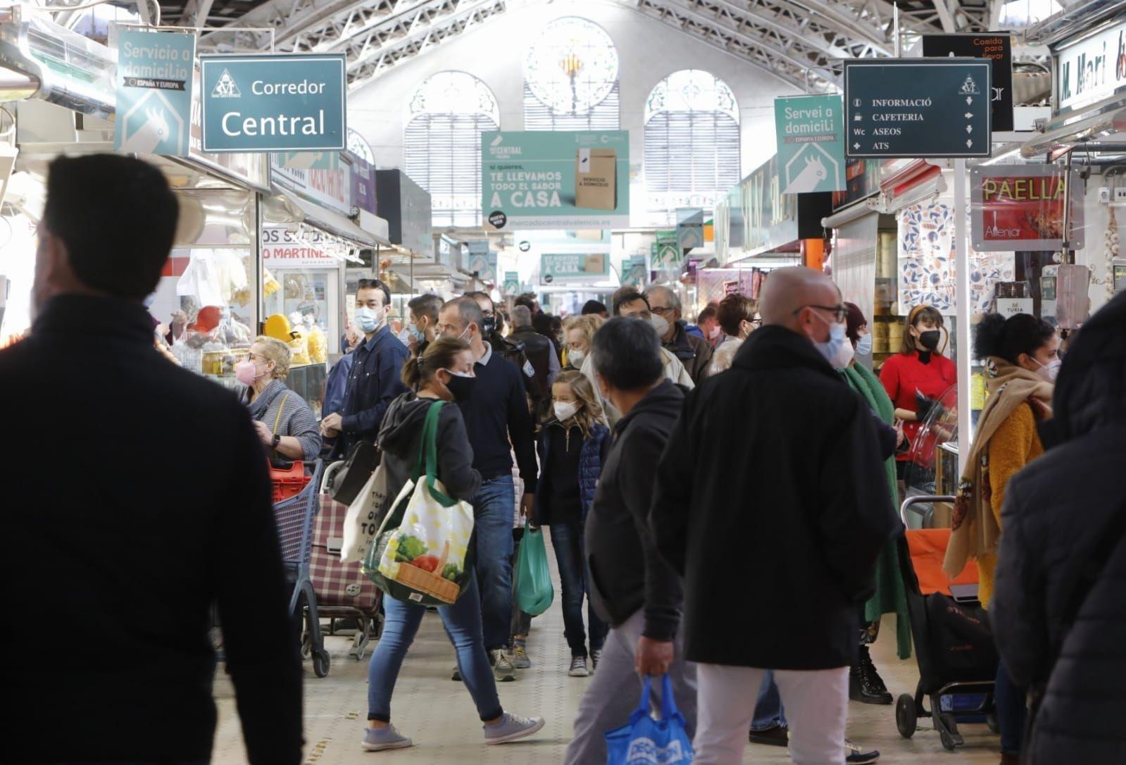 El Mercado Central, a rebosar