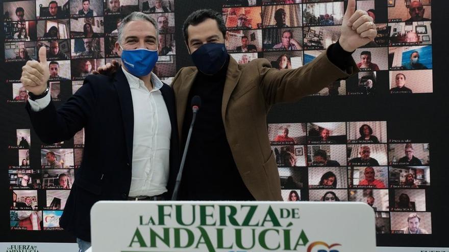 """Juanma Moreno pide """"un cambio de Gobierno en España como el que hubo en Andalucía"""""""