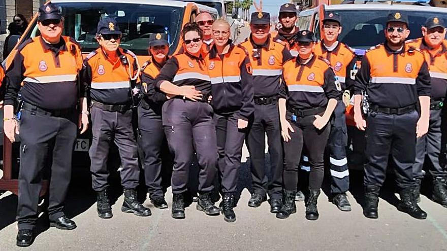 Protecció Civil Xeraco dedica 2.814 hores al servei de la ciutadania durant l'any 2020