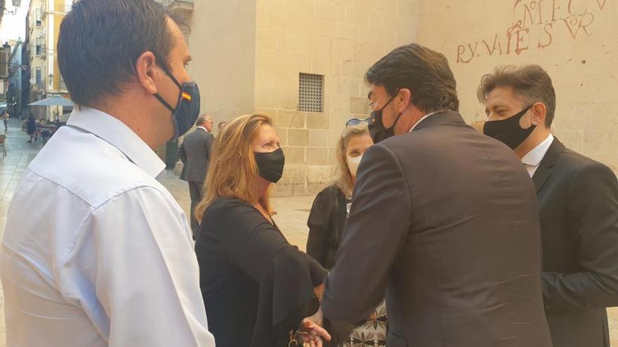 Misa-funeral en homenaje a las víctimas de la Covid-19 en Alicante