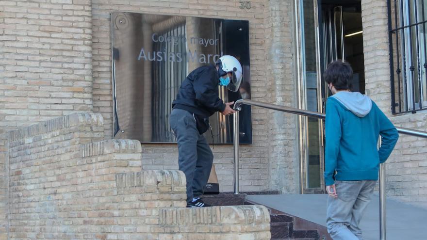 CORONAVIRUS VALÈNCIA | Un macrobrote en la residencia de estudiantes Ausiàs March deja 72 contagios