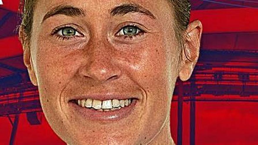Núria Mendoza, contra el Madrid en l'inici de la lliga