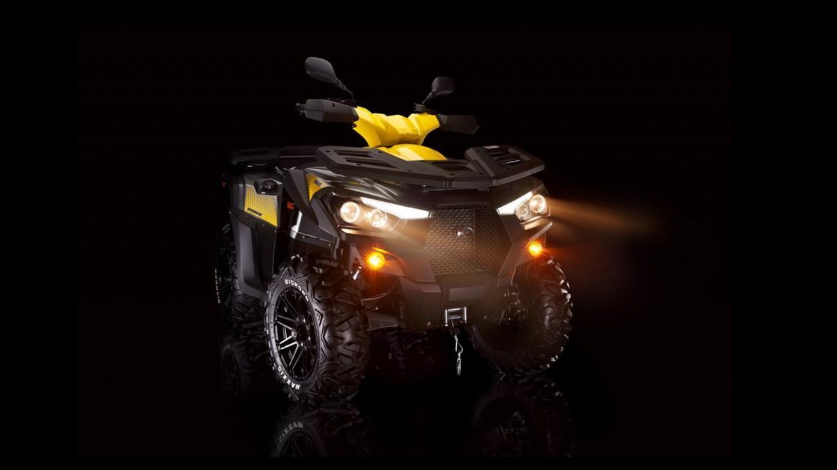 Kymco MXU 700 2021: el ATV mejor equipado, con dirección asistida y ABS
