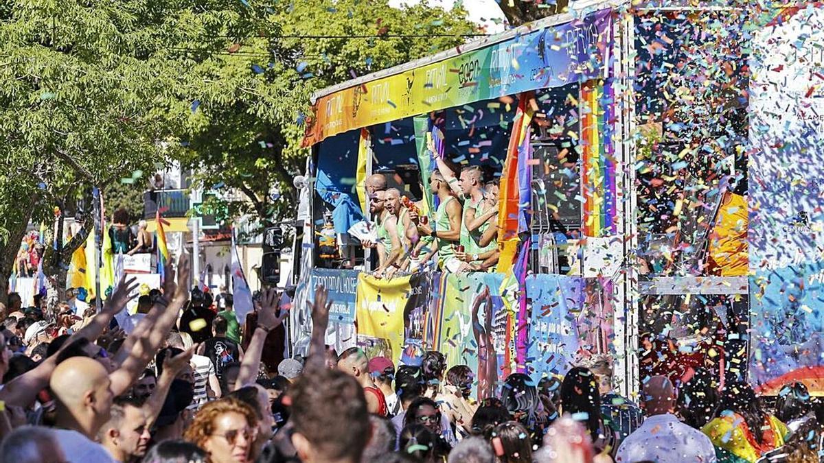Celebración del Pride en Torremolinos en 2019.