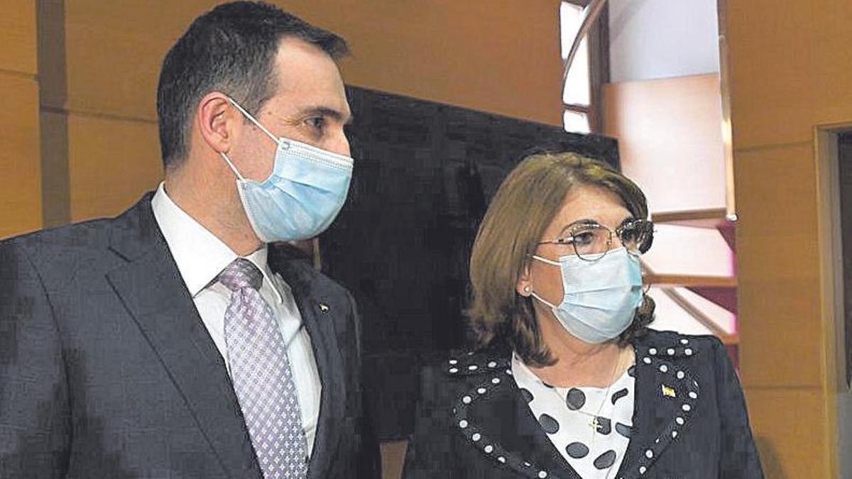 Juan José Liarte y Mabel Campuzano.