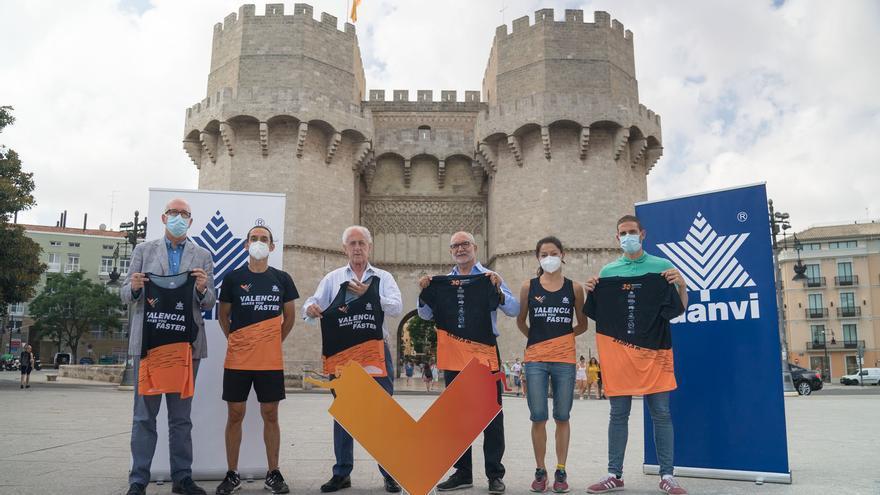 El Medio Maratón de València presenta sus camisetas oficiales para 2021