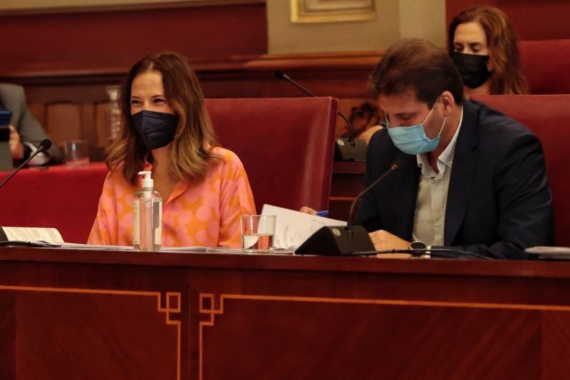 Pleno del Ayuntamiento de Santa Cruz de Tenerife, 30/07/2021