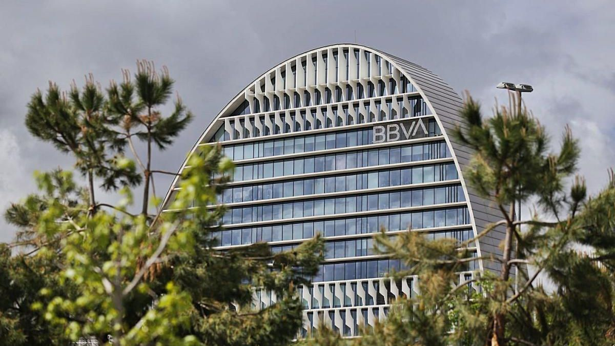 La seu del BBVA, a Madrid.