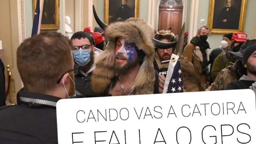 La retranca gallega también asalta el Capitolio de EEUU