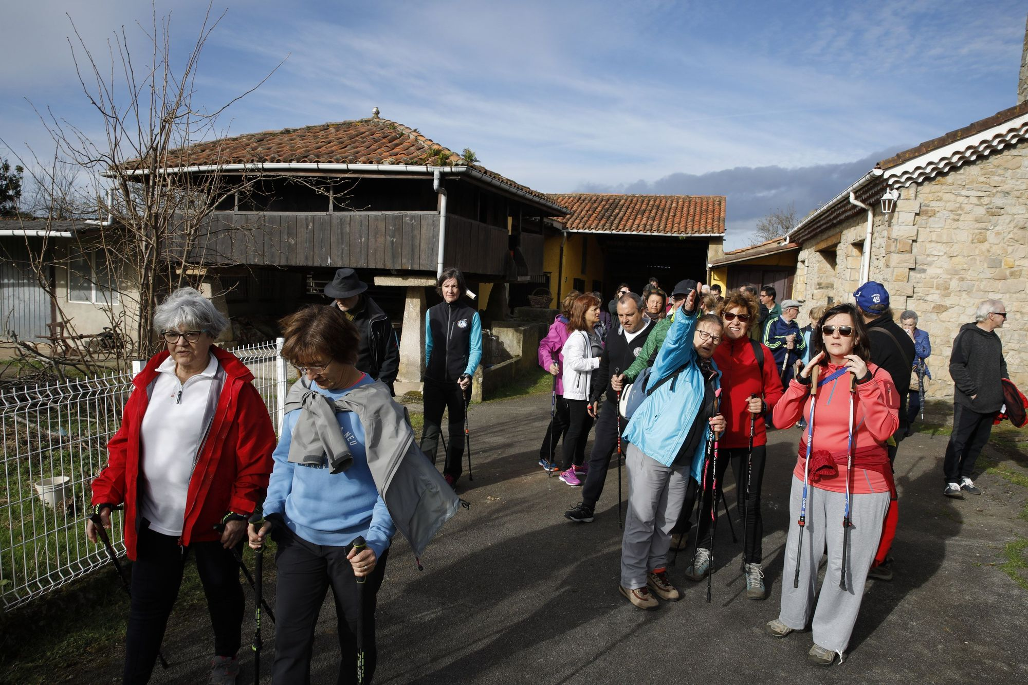 Una ruta circular por la zona rural de Gijón: Santurio