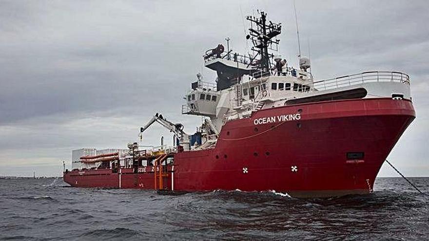 Itàlia autoritza el desembarcament dels 82 migrants de l'Ocean Viking