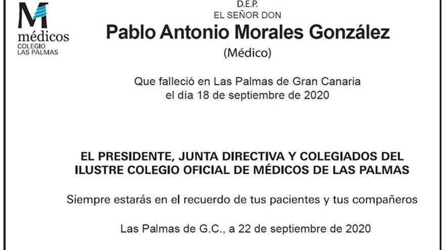 Pablo Antonio Morales González
