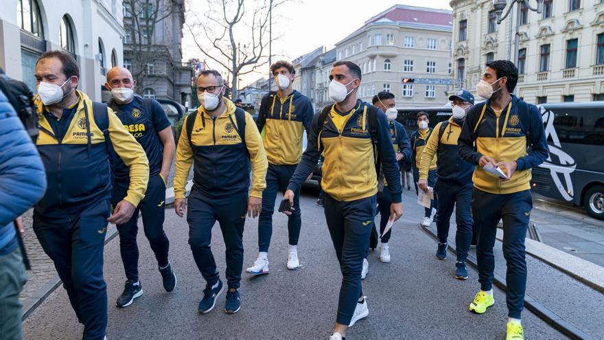 La burbuja del Villarreal en Zagreb