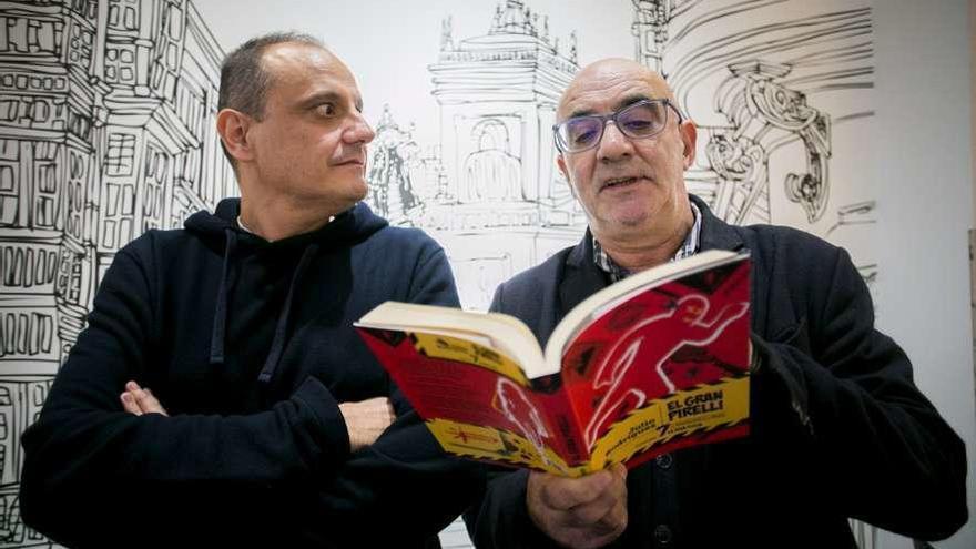 """""""El gran Pirelli"""" se ríe en Cervantes"""