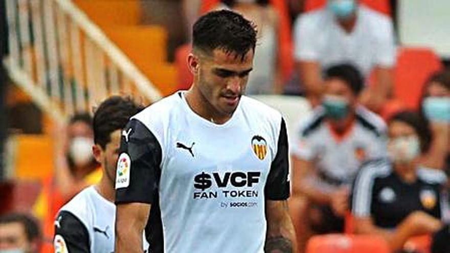 Bordalás sabe hoy si tendrá a Maxi contra el Cádiz