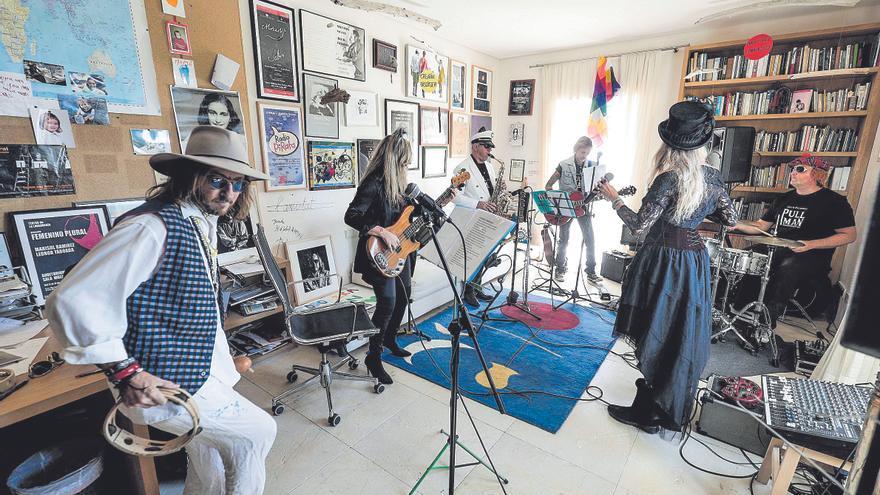 En capilla con los Pullman, la aventura rockera de Punyet Miró