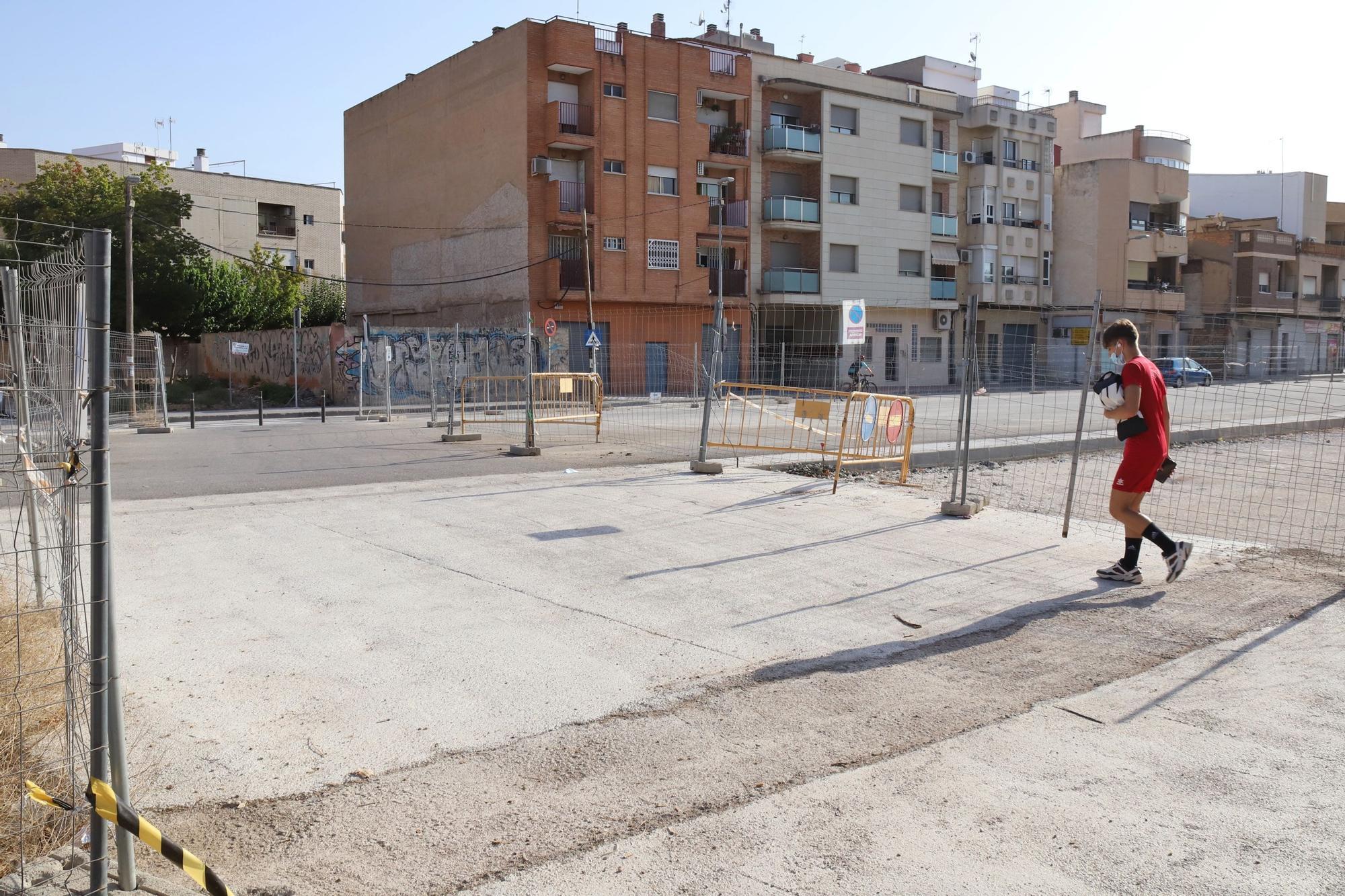 Abiertos seis nuevos pasos tras el soterramiento del ferrocarril en Murcia