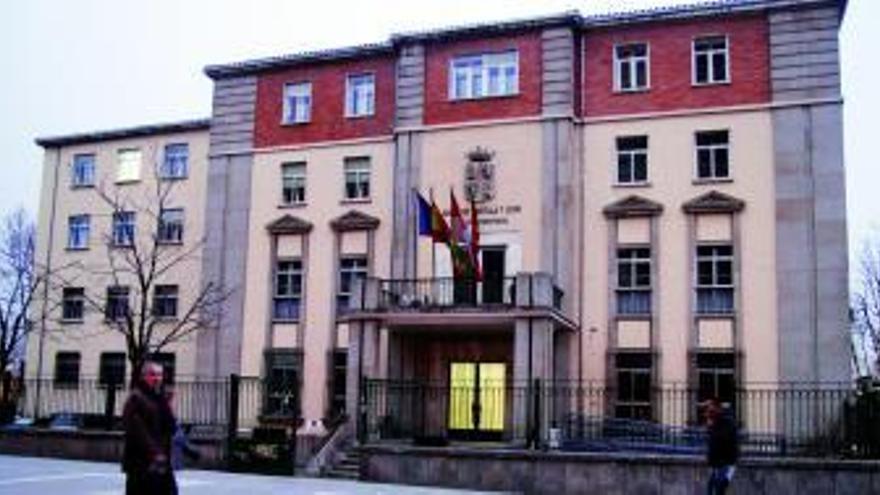 Sede de la Oficina Territorial de Trabajo de la Junta en Zamora.