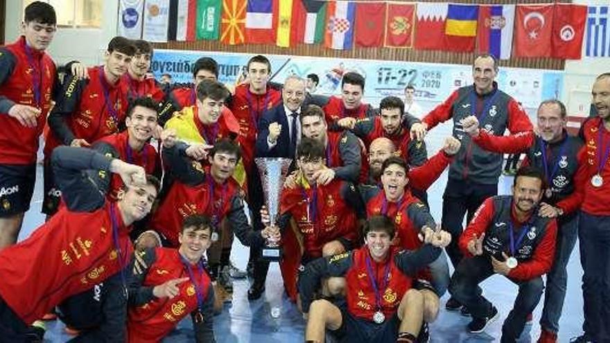Lago gana con España el campeonato mediterráneo