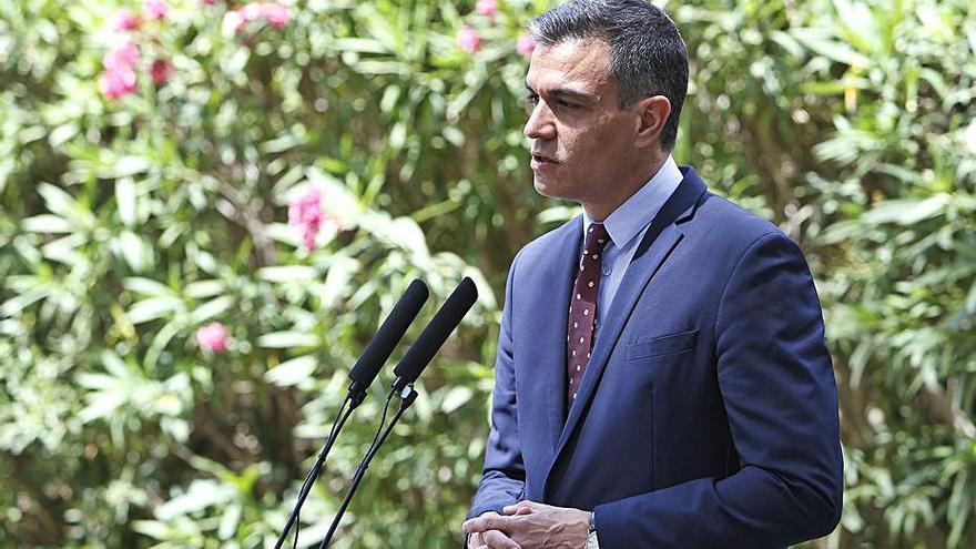 Sánchez garanteix que el  repartiment dels fons de la UE es farà amb «criteris objectius»