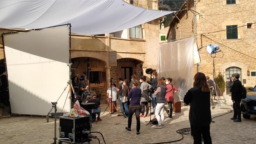 Así se rueda en Valldemossa la nueva película de Benito Zambrano