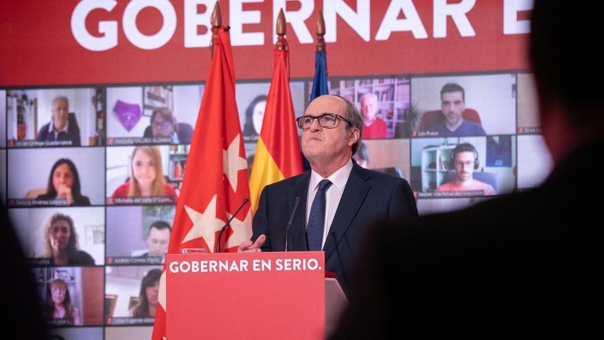 Gabilondo dice que si es presidente formará el primer gobierno paritario de Madrid