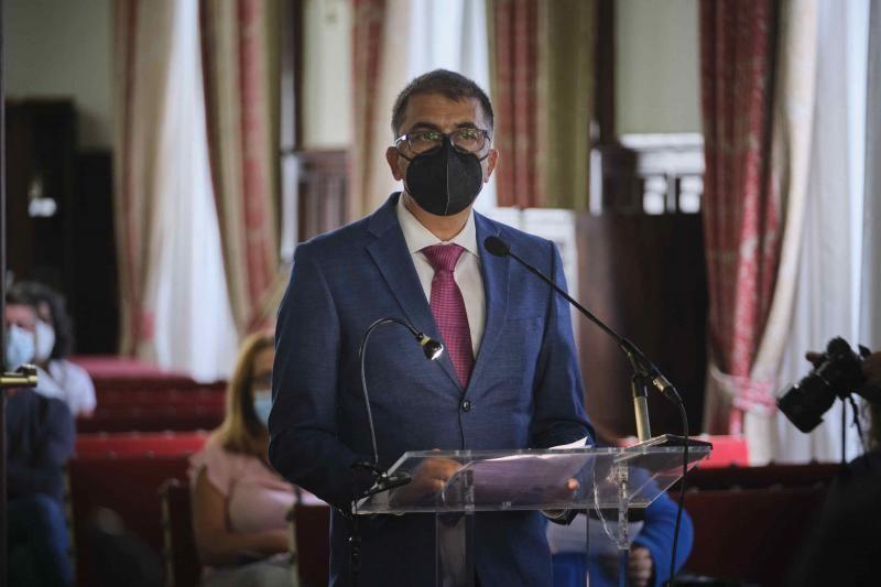Pleno del Ayuntamiento de La Laguna, 16/09/2021