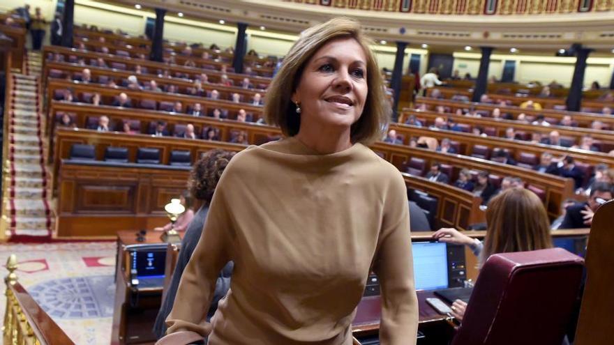 """Cospedal dijo a Martínez que todo lo que habló con Villarejo """"era por el bien del Estado"""""""
