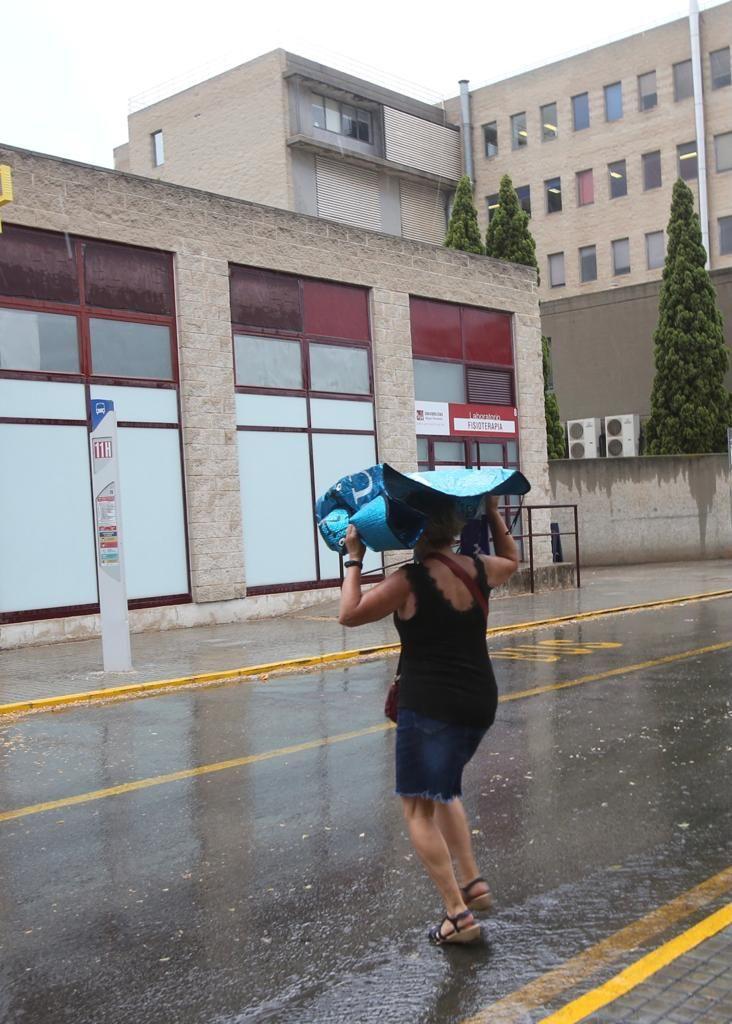 Alerta naranja por tormentas en Alicante
