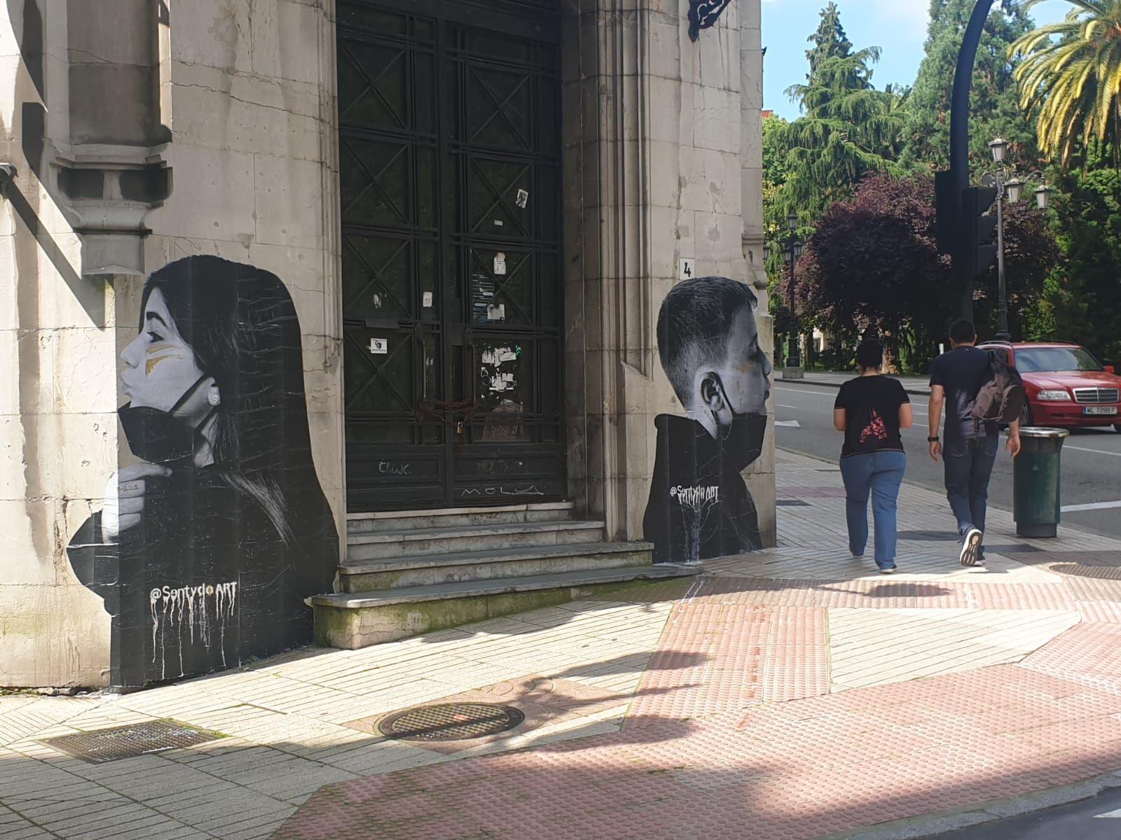 El arte invade las calles de Oviedo