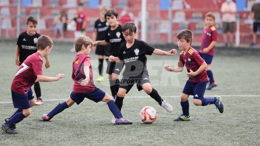 El Atlético Sedaví prebenjamín gana en Albal