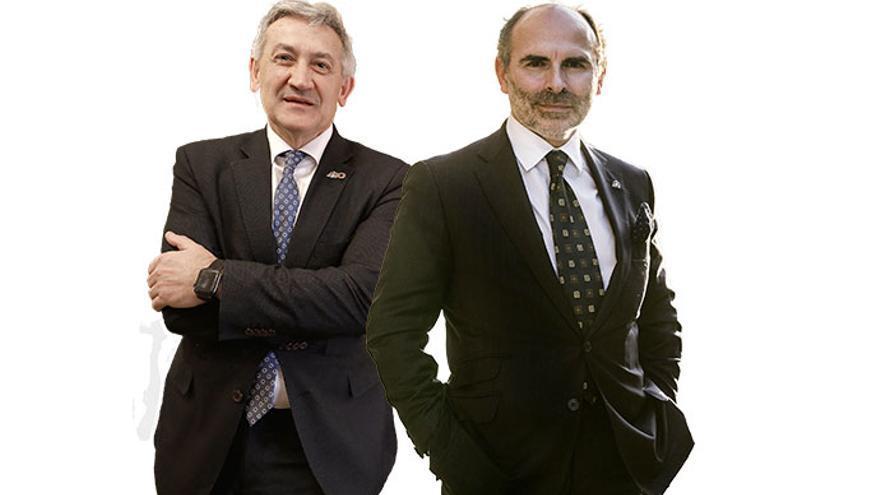 La carrera al rectorado: estas son las candidaturas de Santiago García Granda e Ignacio Villaverde