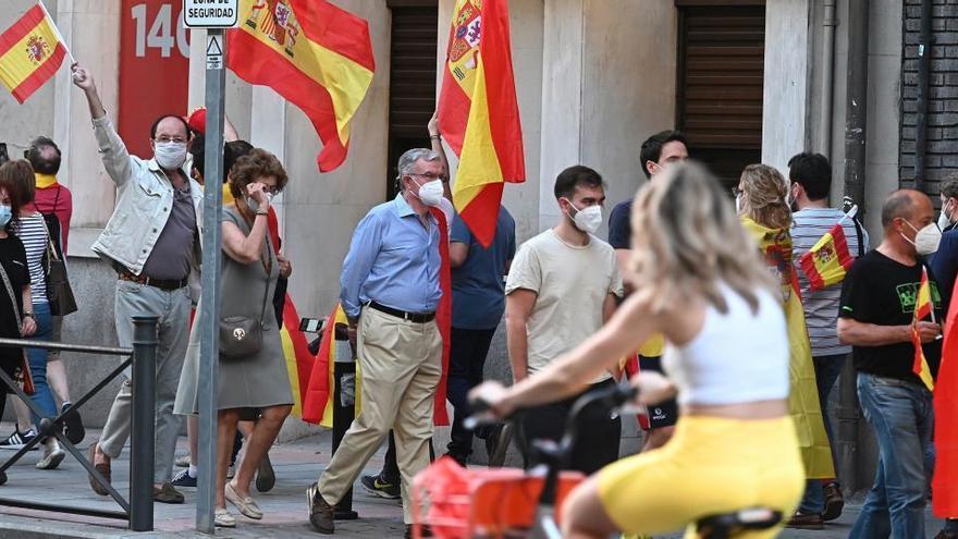 Luz verde a las manifestaciones de Vox contra el Gobierno en Cataluña