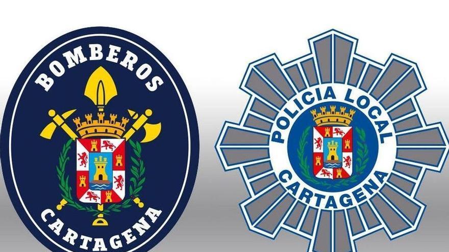 Investigan la quema de 20 contenedores en el barrio cartagenero de Santa Lucía