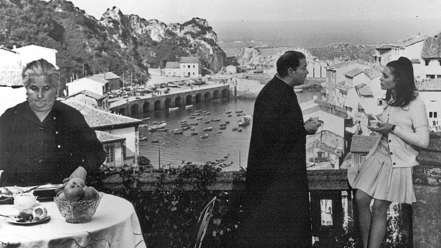 """Medio siglo de """"El Cristo"""" que convirtió en estrella de cine a Cudillero"""