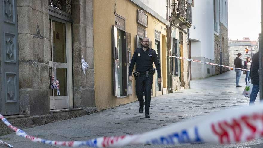Detenido el presunto homicida del hostelero del bar Novo de Ourense