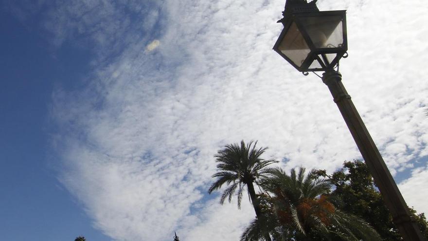 La Aemet prevé hoy en Córdoba intervalos nubosos y temperaturas sin cambios