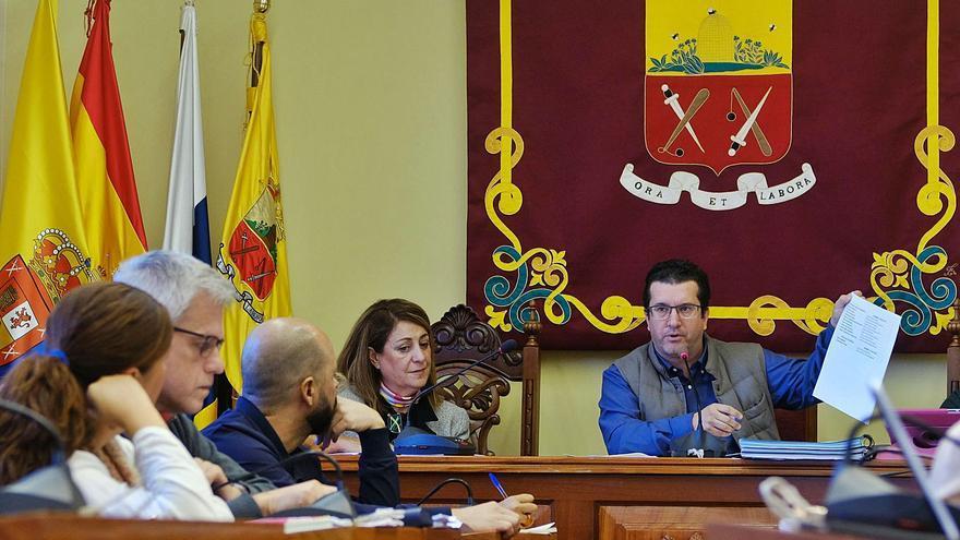 Arucas aprueba un presupuesto de 29,3 millones de euros para el ejercicio 2021