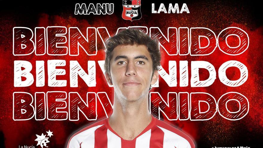 El hijo de Manolo Lama firma por La Nucía