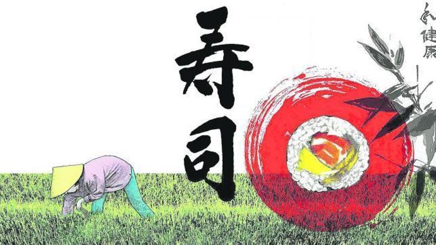 Reconversió  japonesa del sushi