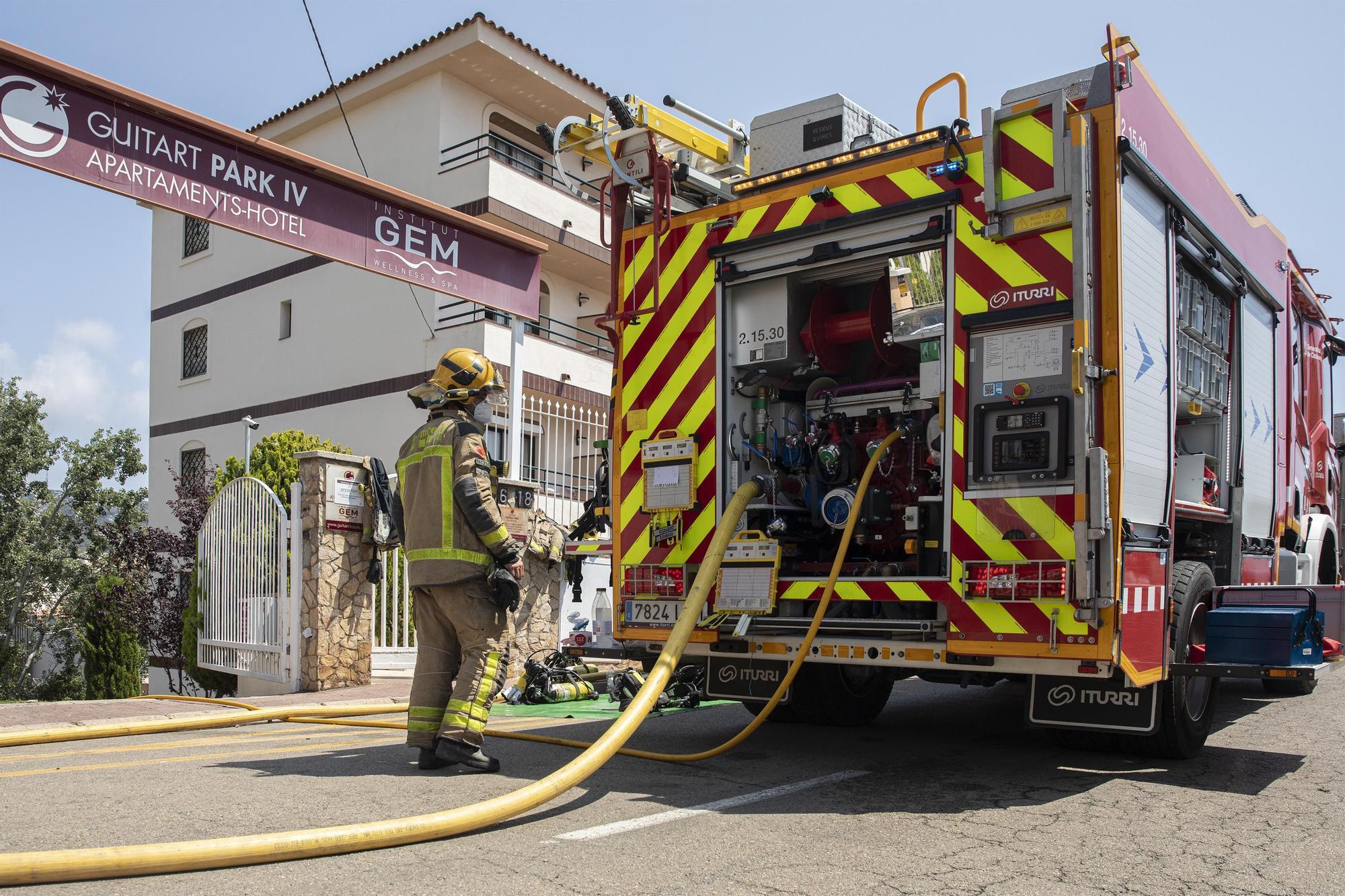 Incendi a Lloret