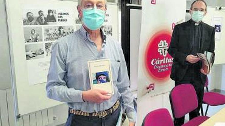 Un libro de poesía servirá para recaudar fondos para Cáritas